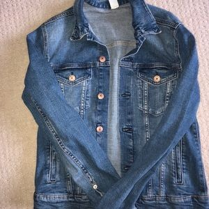 Fitted H&M Jean Jacket